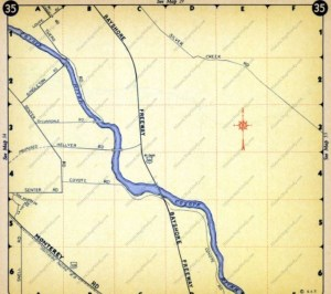 silver creek map