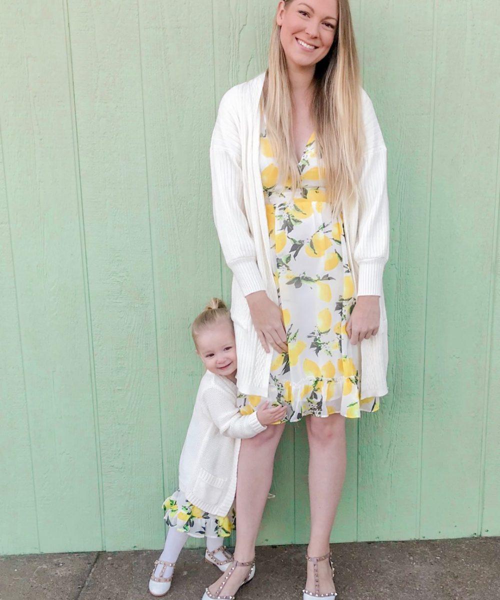 Lemon Print Dresses 4