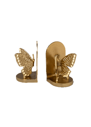 gold butterfly bookends target home
