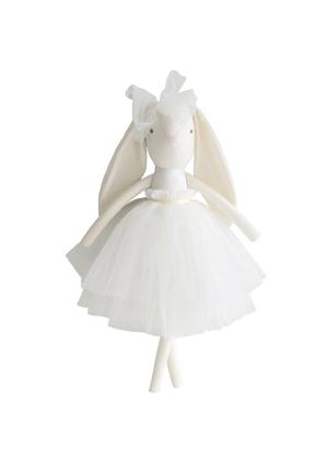 white alim rose bunny tutu toy baby evie