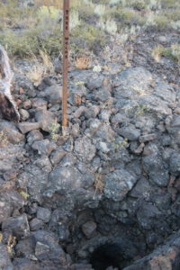 Craters of the Moon National Monument Tree Molds Trail