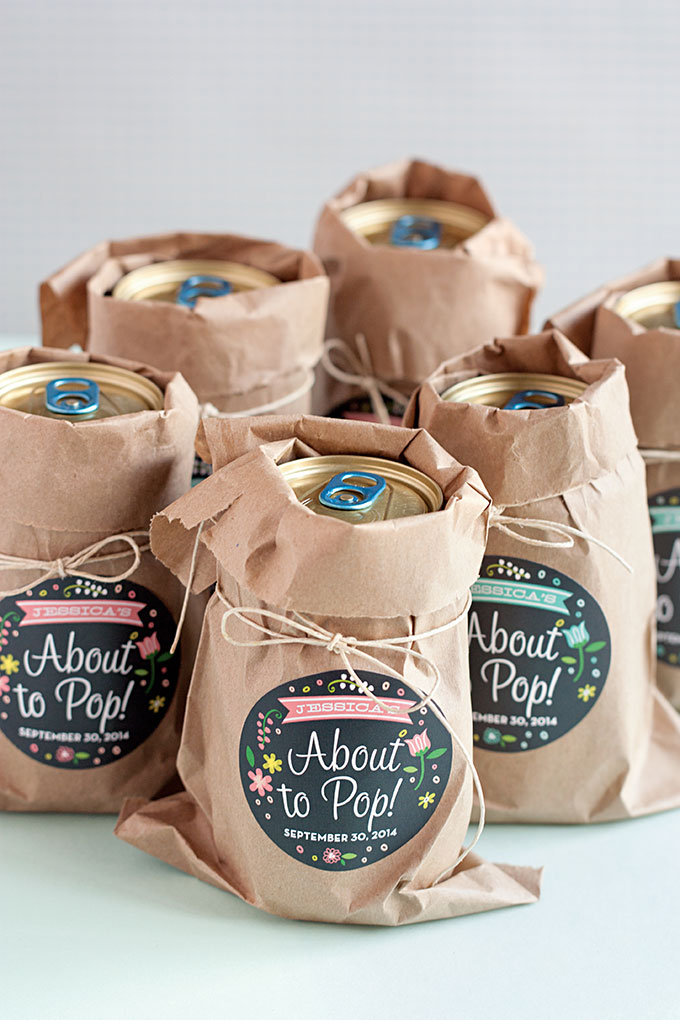 Baby Shower Favors Ideas Make