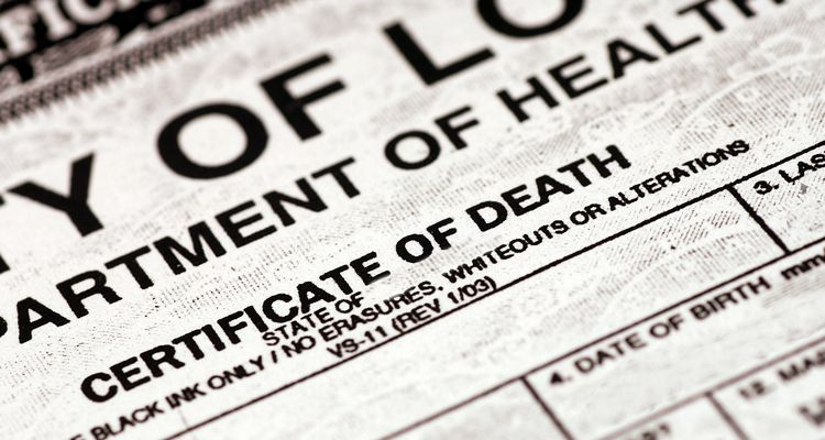 State By State Death Certificate Ordering Information