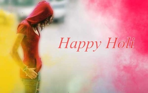 Sad Happy Holi Image