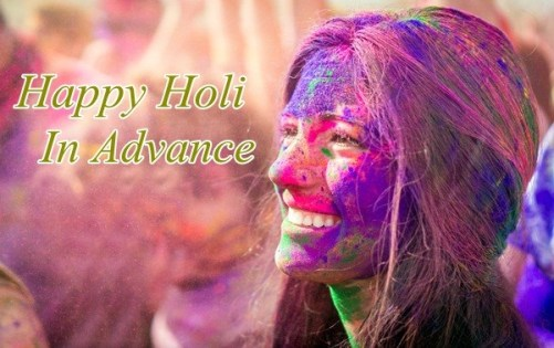 Advance Happy Holi Shayari Sms In Hindi