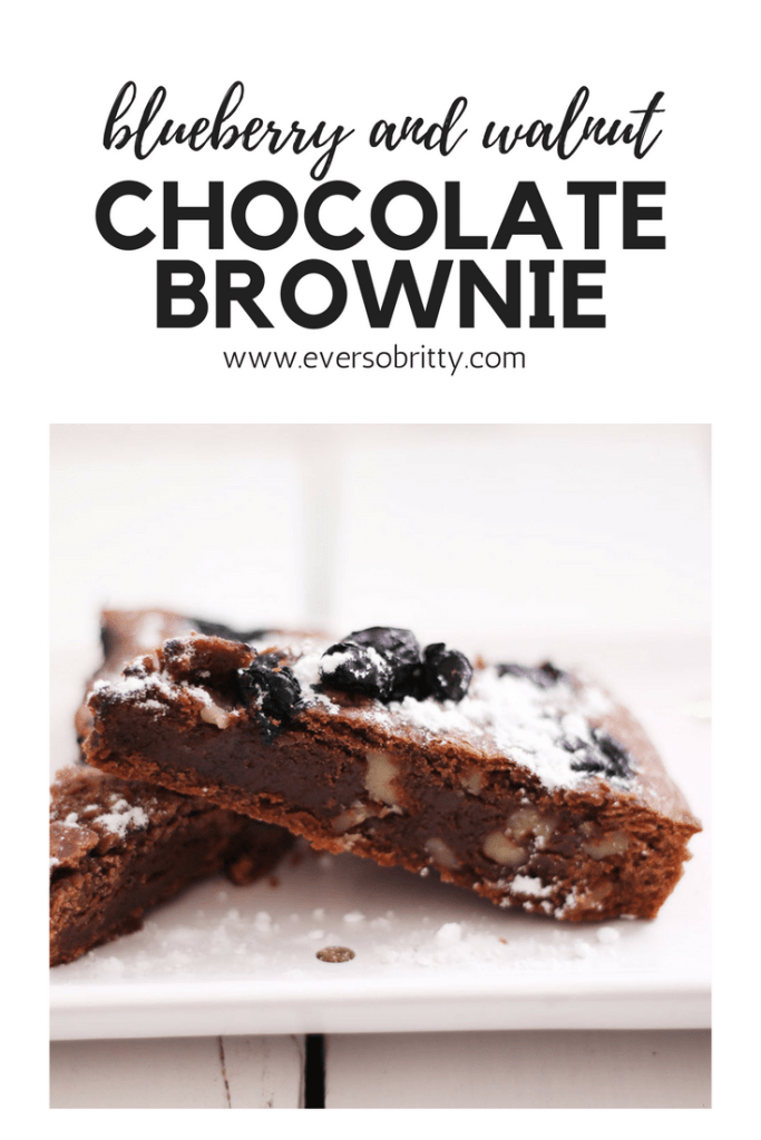 Big fan of brownie? This blueberry and walnut chocolate brownie will win any crowd over.