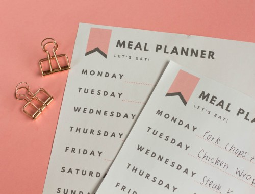 Meal planning basics, ideas, grocery tips, and printables.