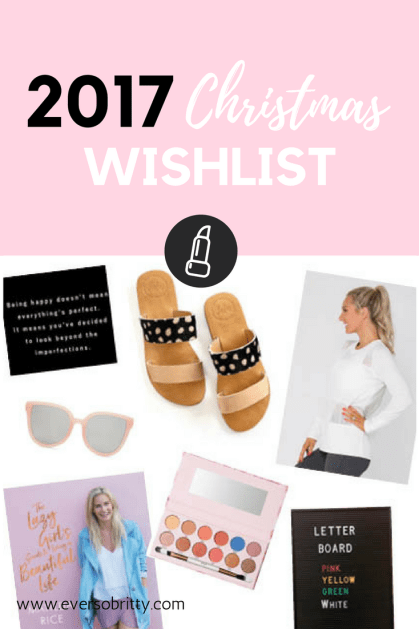 What's on your Christmas wishlist?! Check out what's on mine.