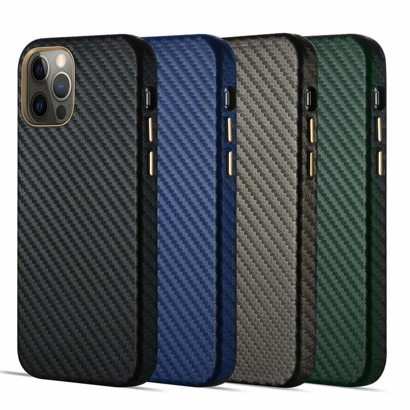 Real Aramid Carbon Fiber iPhone 12 11 Pro Max Cases