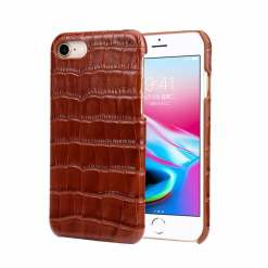 Genuine Crocodile Belly Leather Case Cover for iPhone 6 Plus