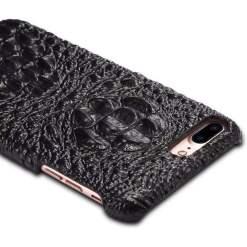 Real Croc Leather iPhone Case Skull Hornback Skin