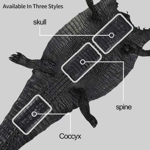 Real Crocodile Skin Leather Samsung S21 Ultra Note 20 Case – Tail Skin