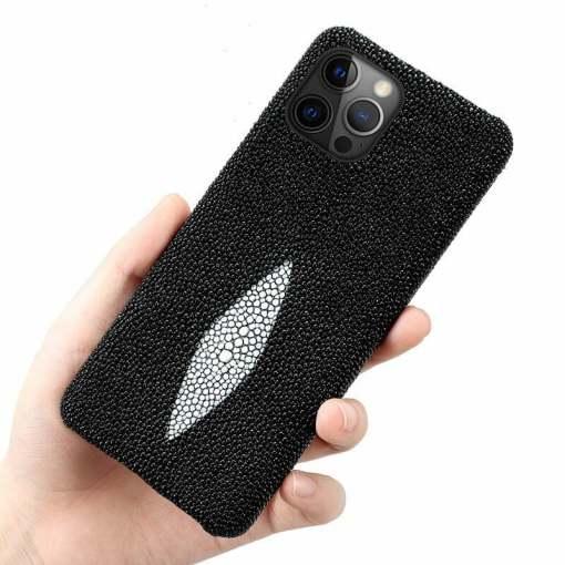Genuine Stingray Skin iPhone 12 Pro Max Case