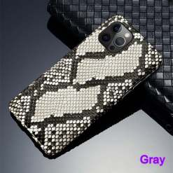 Real Python Snakeskin iPhone 12 Pro Max Case