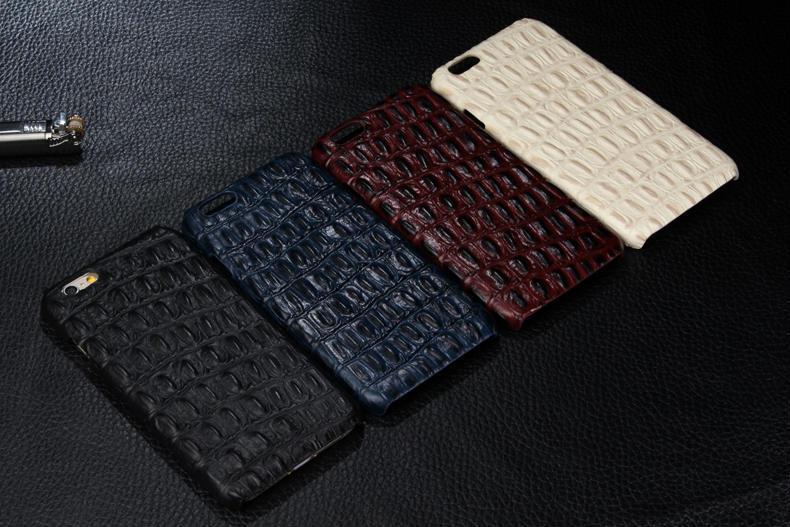 Genuine Crocodile Hides iPhone 6 Plus Case – Hornback Leather