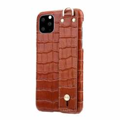 Kickstand iPhone 12 Leather Case