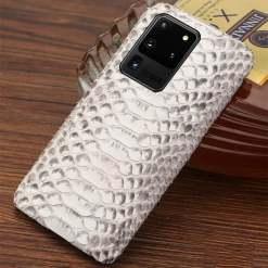 Genuine Real Snakeskin Samsung Galaxy Cases - Belly Skin