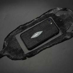 Real Genuine Stingray Skin iPhone 7 8 Plus 6s Case
