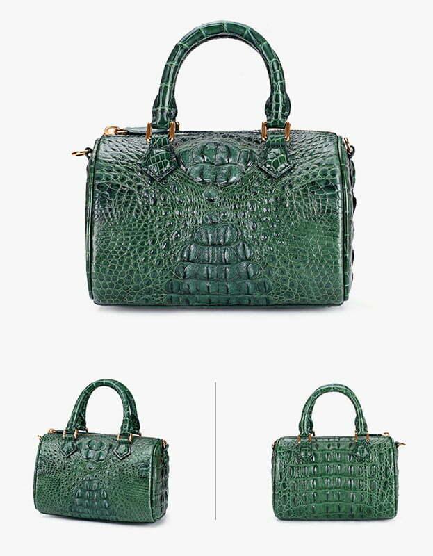 Genuine Crocodile Womens Handbag Alligator Shoulder Bag