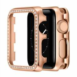 iWatch Case SE 2 3 4 5 6 38/40/42/44 mm Alloy Zircon Cover