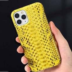 Genuine Snake Skin iPhone 13 Case