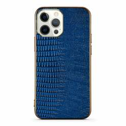 Lizard Embossed Leather Case