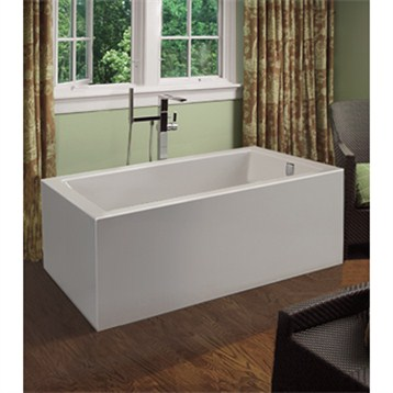 MTI Andrea 17A Freestanding Sculpted Tub 54 X 30 X 20