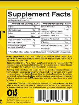 015 Nutrition - Exalt