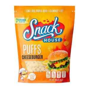 Snackhouse Puffs Cheeseburger