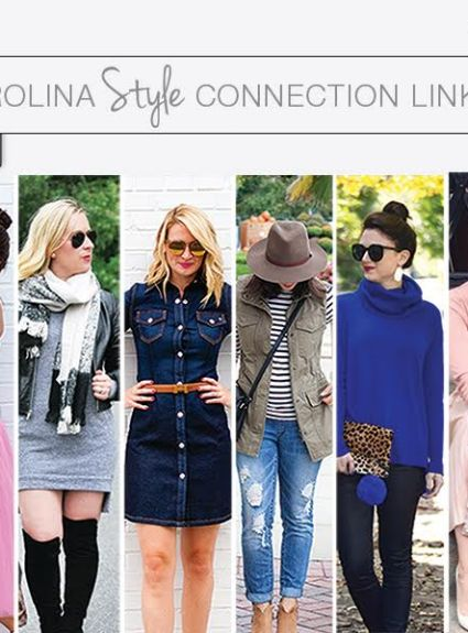 Carolina Style Connection Blogger Link Up || Wearing Fall Favorites in the Holiday Season