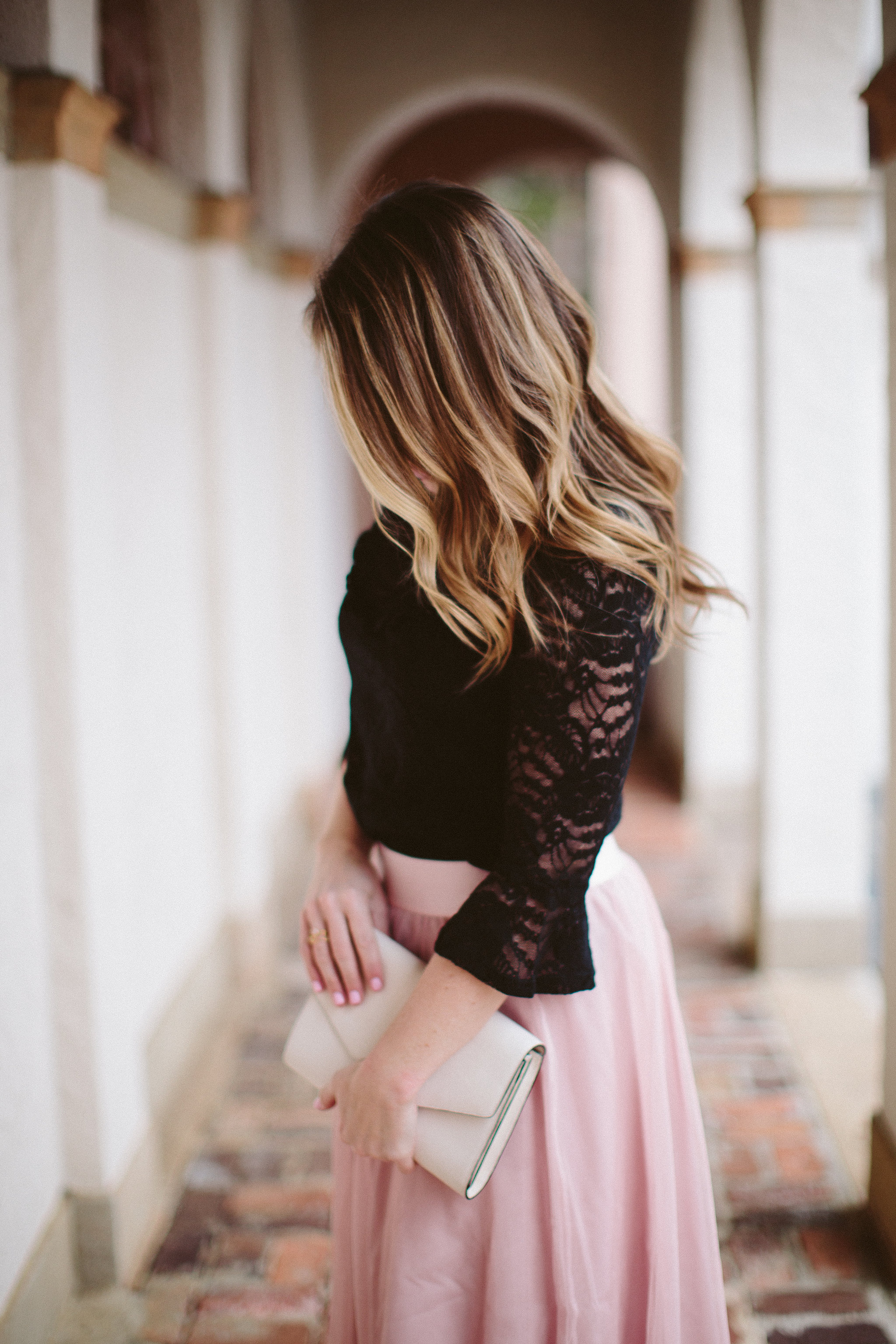 Lace Top, Tulle Skirt