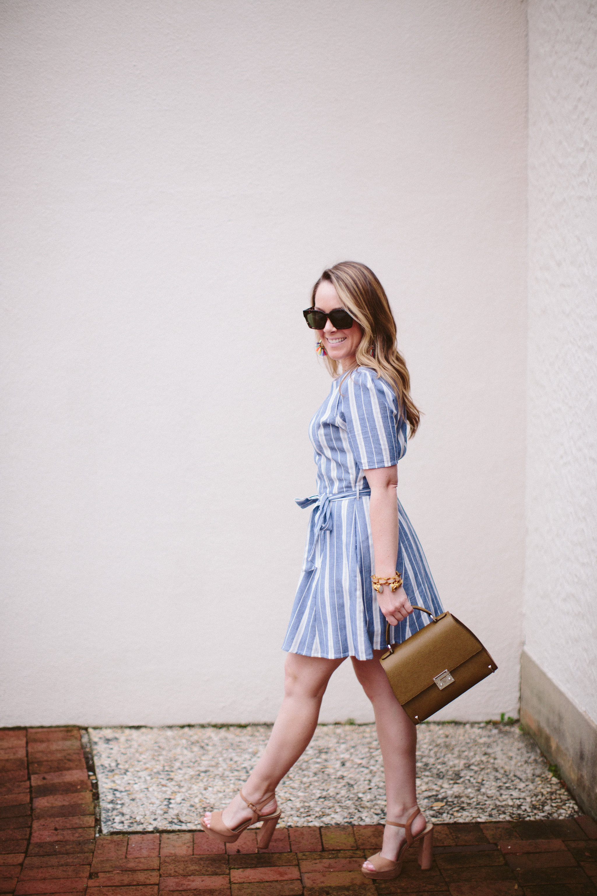Tularosa Stripped Dress