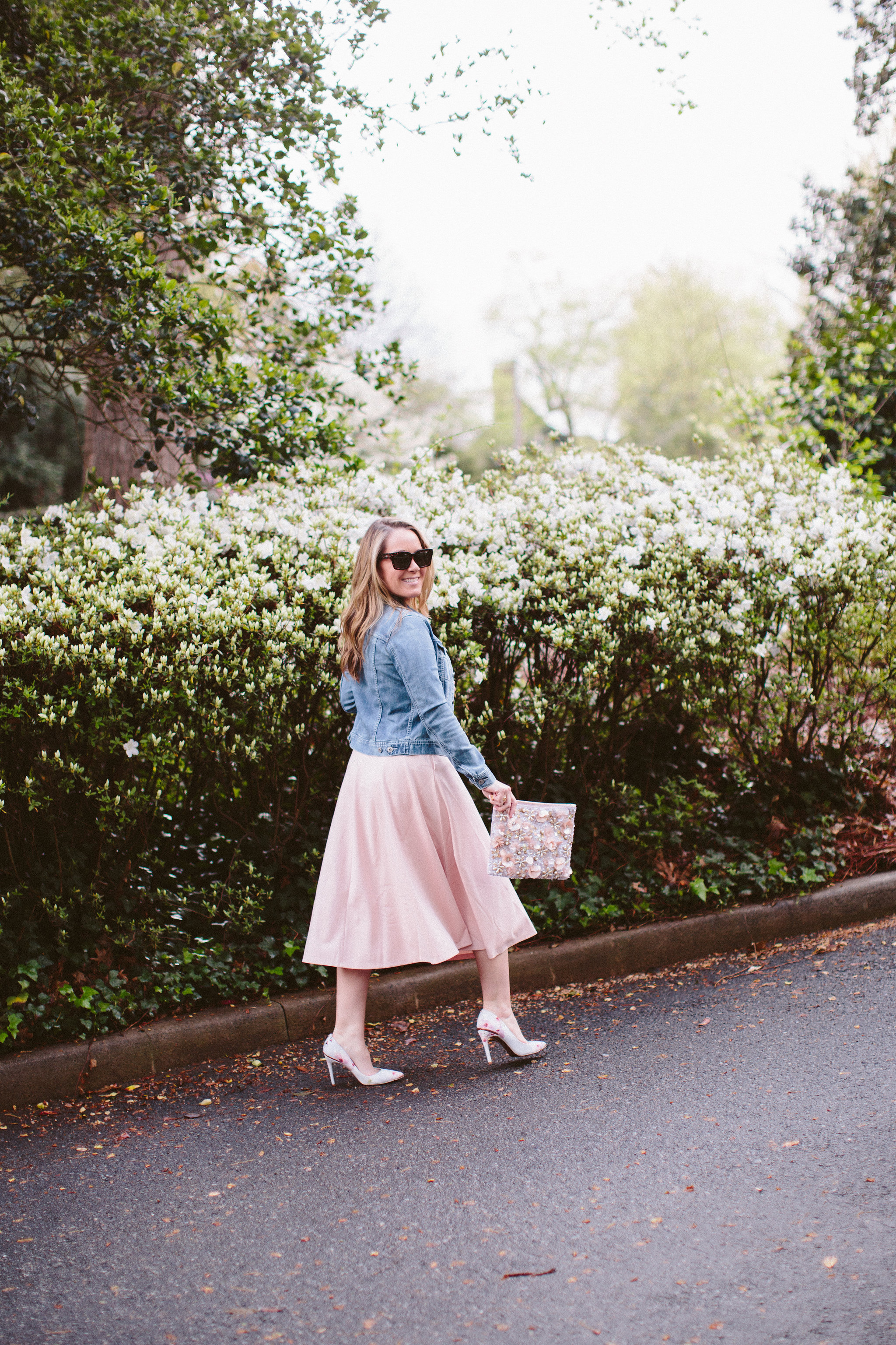 Leith Knit Midi Dress by Charlotte fashion blogger Every Chic Way