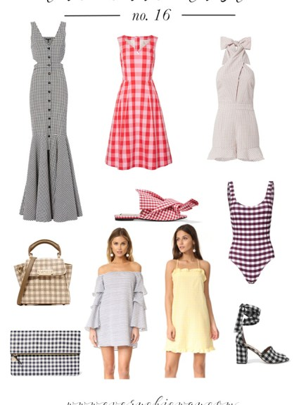 Gingham Trend For Spring
