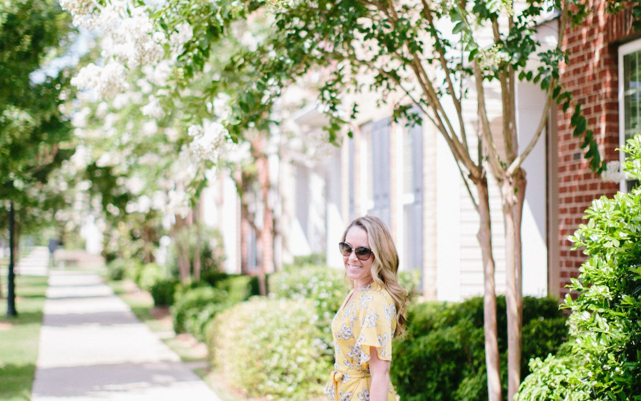 Maxi Wrap Dress + Giveaway