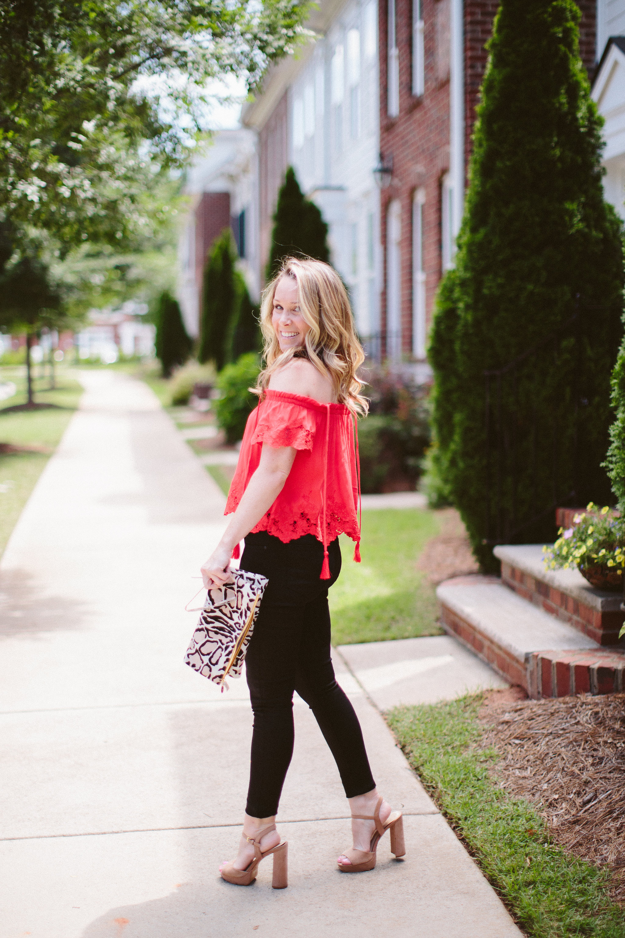 Mott and Bow Jeans by NC fashion blogger Every Chic Way