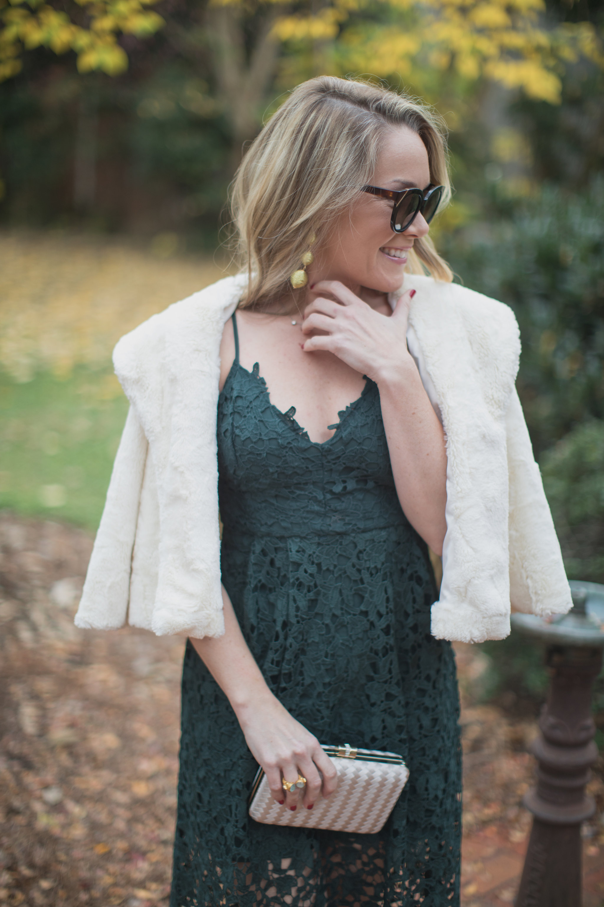 The perfect dress this holiday season is under $100. Check it out today on ECW! - The Perfect Holiday Dress under $100 by North Carolina fashion blogger Every Chic Way
