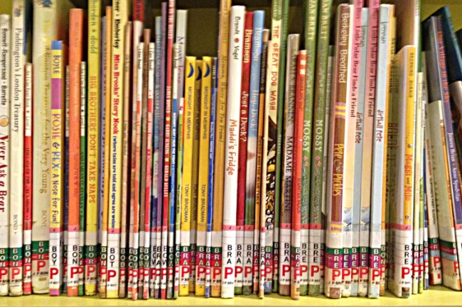 librarybookslinedup