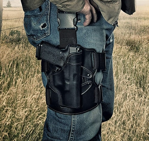 Best Concealed Carry Thigh Holster - REVO Drop-Leg Thigh Holster