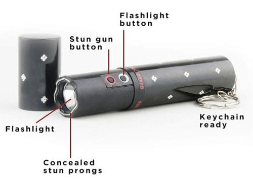 Best Self Defense Flashlights - Concealed Lipstick Stun Gun