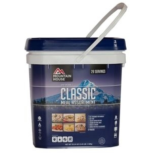 Best Emergency Food Rations - Mountain House Freeze Dried Food Bucket