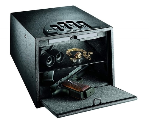 Gun Safety Tips On Gun Ownership - GunVault Deluxe Gun Safe