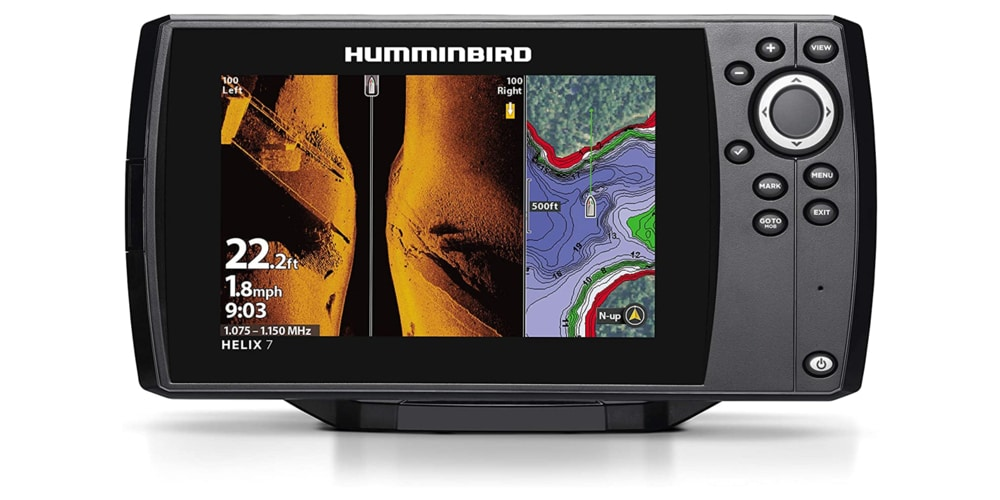 Hummingbird Helix 7 GPS G3 Fish Finder Review