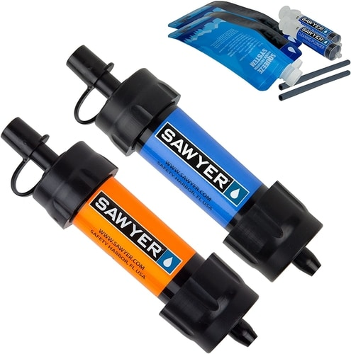 Best Portable Water Filter - Sawyer Products MINI Water Filtration System
