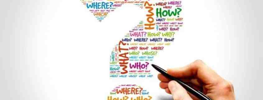 graphic word cloud for questions