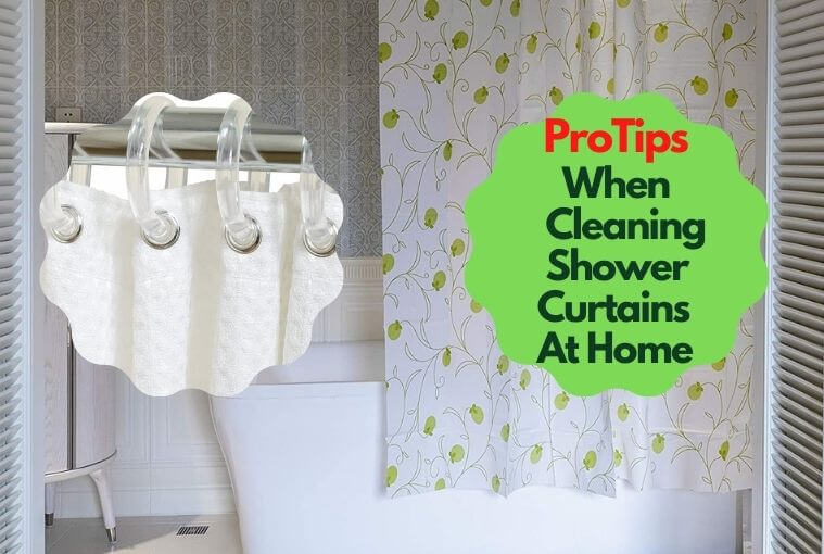 how to wash plastic shower curtains at home