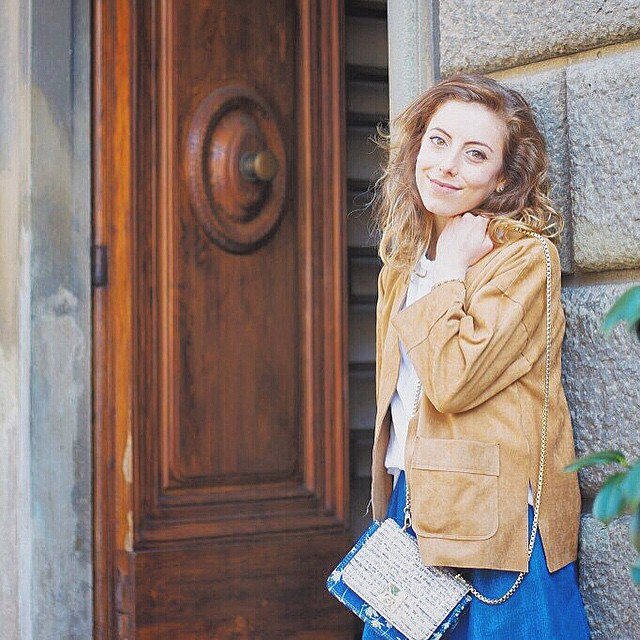 New post on EVERYDAY COFFEE il mio outfit per lo stylelab di @buonaguidipescia ❤️http://www.everydaycoffee.it/2015/04/buonaguidi-stylelab-una-giacca-in-suede-e-una-mini-in-jeans/