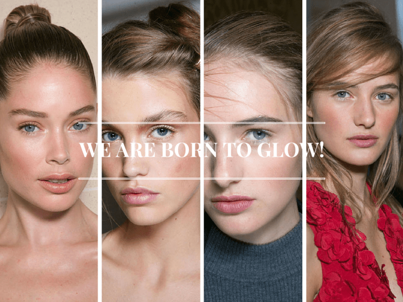 WE ARE BORN TO GLOW!