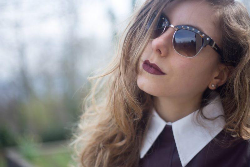 leather midi dress-4
