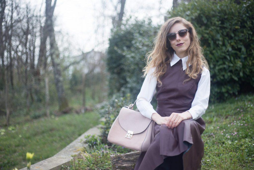 leather midi dress-5